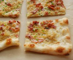 Flammkuchen--great for fall and winter!
