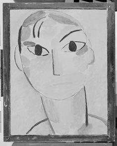 Alexei Jawlensky German, born Russia, 1864–1941, Mystical Head: Andrej