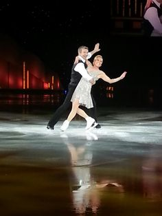 Torville and Dean. Dancing On Ice live tour. # Manchester