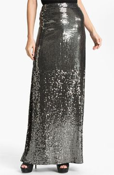 MICHAEL Michael Kors Sequin Maxi Skirt available at #Nordstrom