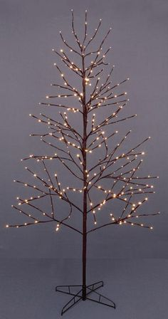 12 Best Twig Christmas Trees With Lights Images Twig