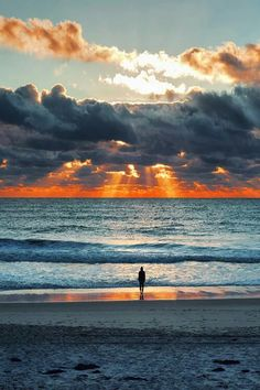 Amazing  beautiful   sunset