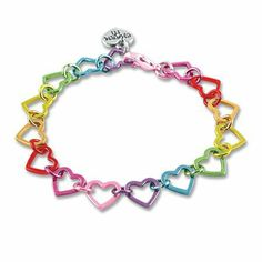 CHARM IT! Rainbow Heart Link Charm Bracelet - Starter Bracelet Charm It! Signature Accessories, http://www.amazon.com/dp/B0046GZCG6/ref=cm_sw_r_pi_dp_rtcWqb011GMZN