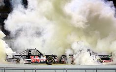 2014 Ford Ecoboost 200: Wallace Jr. wins race, KBM wins owner's title (photo: Getty Images/Chris Graythen)