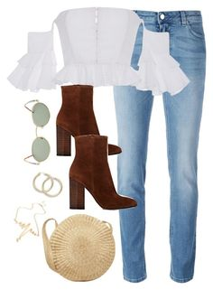 """""""Untitled #3956"""" by theaverageauburn on Polyvore featuring Givenchy, Gianvito Rossi and Forever 21"""