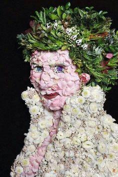 Las obras con elementos vegetales de Klaus Enrique Gerdes ♡