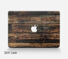 WOOD MAC Decal Mac Sticker Mac Book Pro Case Mac Book by SkinLee
