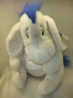 "Eeyore Plush Stuffed Animal Winter White 18"" Winnie The Pooh Disney Store   eBay"
