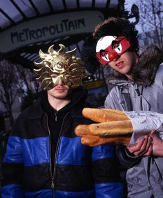 DAFT PUNK with Baguettes