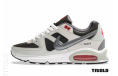 "Nike Air Max Command ""Neutral Grey/University Red"""