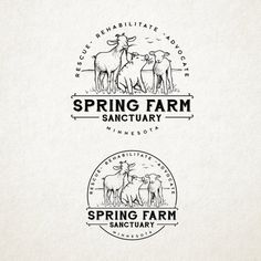 Spring Farm Sanctuary - Create a peaceful scene for animals recovering and enjoying life for the first time.