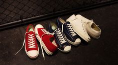 "CONVERSE JACK PURCELL 80 ""JACK PURCELL 80th ANNIVERSARY"" ""LIMITED EDITION for TimeLine"""