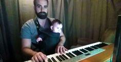 Neue Väter: Ein Bart, eine Baby und die Bettzeit