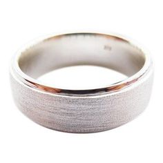 Handmade Sterling Silver Men's Wedding Ring - Ring to Perfection