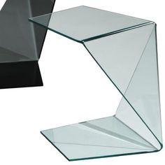 Creative Furniture Origami End Table Finish: Clear Origami Furniture, Art Deco Furniture, Design Furniture, Cheap Furniture, Furniture Plans, Furniture Stores, Furniture Outlet, Furniture Removal, Urban Furniture