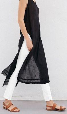 Black handkerchief linen. Yes.