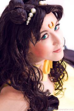 Human Luna from Sailor Moon.