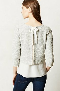 Janie Layered Pullover - anthropologie.com  BACK