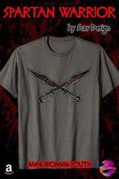 Spartan Swords Shirt 300 Spartans T- Shirt Greek Warrior, Warriors Shirt, Spartan Warrior, Molon Labe, Swords, Cool T Shirts, Streetwear, Greece, Bodybuilding