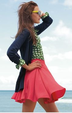Cuteness at its best! The skirt is flowing and has spring/summer written all over it! From Nordstrom. http://media-cache5.pinterest.com/upload/259519997247300369_I2ZN5FZz_f.jpg katieintn aspire to accessorize