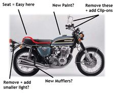 How to build a Cafe Racer for cheap