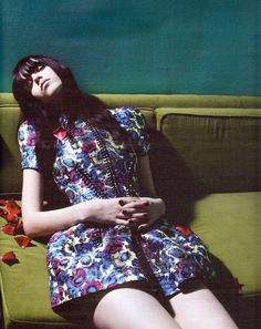 THAT DRESSS!!!! Meghan Collison by Mert & Marcus for W March 2008
