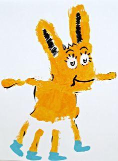 fox-in-socks-handprint-craft