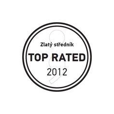 """Výroční zpráva Nemocnice Na Bulovce za rok 2011 získala ocenění """"TOP RATED"""" v kategorii Nejlepší výroční zpráva v soutěži Zlatý středník pořádané PR Klubem. North Face Logo, The North Face, Logos, Logo"""