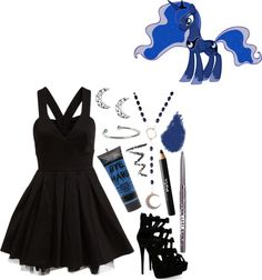 Princess Luna By Jesandersen On Polyvore My Little Pony Friendship Is Magic Pinterest I