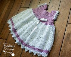 Ravelry: Snap Dragon Toddler Dress pattern by Kate Wagstaff