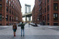 'Saving Place: 50 Years of New York City Landmarks' opens at the Museum of the City of New York; Iwan Baan, Washington Street with Manhattan Bridge, 2014. Photo: Iwan Baan, courtesy the photographer.