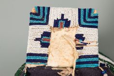 Cheyenne Beaded Soft Body Cradle - March in Montana