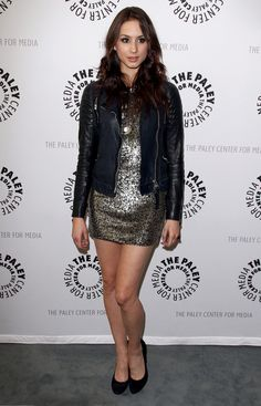 Troian Bellisario At The Paley Center
