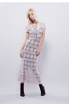 Free People Fairytale Crochet Dress at Free People Clothing Boutique