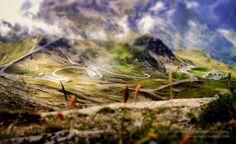 Alpine Road in Austria by Christoph Oberschneider on Austria, Road Trip, Outdoor Adventures, Mountains, Roads, Instagram, Amazing, Nature, Up