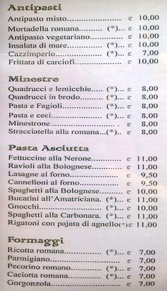 trattoria nerone from pinterest Florence Food, Pasta E Fagioli, E 10, Journal, Journal Entries, Journals