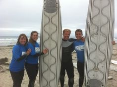 A 3:1 Ratio Participants/#Surf instructor will work individually with you and your friends on #surfing technique. #SanDiego