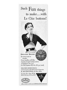 ButtpnArtMuseum.com - La Mode Ad 1965