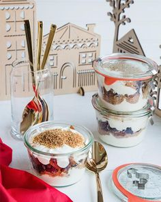 Maidens in a Jar: Norwegian Holiday Parfaits