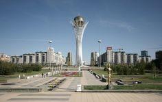 Astana, new captiol of Kazakhstan Astana Kazakhstan, Asia Travel, Seattle Skyline, Travel Pictures, Architecture, Gallery, Building, Travel Photos, Arquitetura