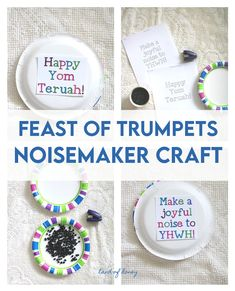 Yom Teruah, Make A Joyful Noise, Easy Crafts To Make, Trumpets, Torah, Times, Holiday, Trumpet, Vacations