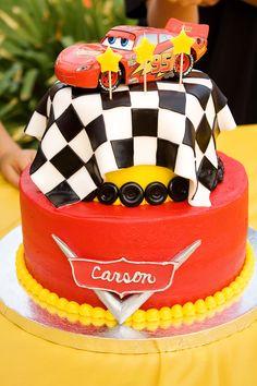 Cars Birthday « Kathryn's Cake Shoppe