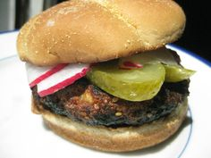 Sesame Ginger Chicken Burgers:  tastes like Asian BBQ, something different for your grill!