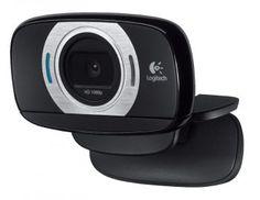Logitech HD Portable Webcam with Autofocus video camera Logitech, Camera Photos, Photo Software, Wireless Home Security Systems, Security Alarm, Security Camera, Desktop Accessories, Video Camera, Hd 1080p