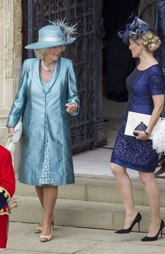 (L-R) Camilla, Duchess of Cornwall, Sophie, Countess of Wessex