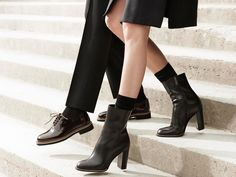 Europe The United States Wind Serpentine Piping Shallow Slender With High Heels Stiletto Heels, High Heels, Fall Winter 2015, Booty, Pumps, Shallow, Shoes, United States, Europe