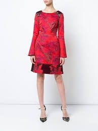 Rezultat iskanja slik za MARCHESA NOTTE floral fitted dress