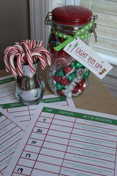 Random Act Of Christmas Kindness Printables