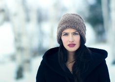 Canadian Girl by Lee Bodson on Canadian Girls, Places To Visit, Winter Hats, Beanie, Beautiful, Fashion, Moda, La Mode, Fasion