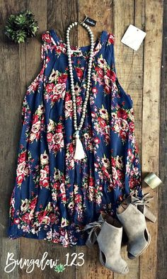 Wild Rose Tunic - Teal Blue (Pre-Order)